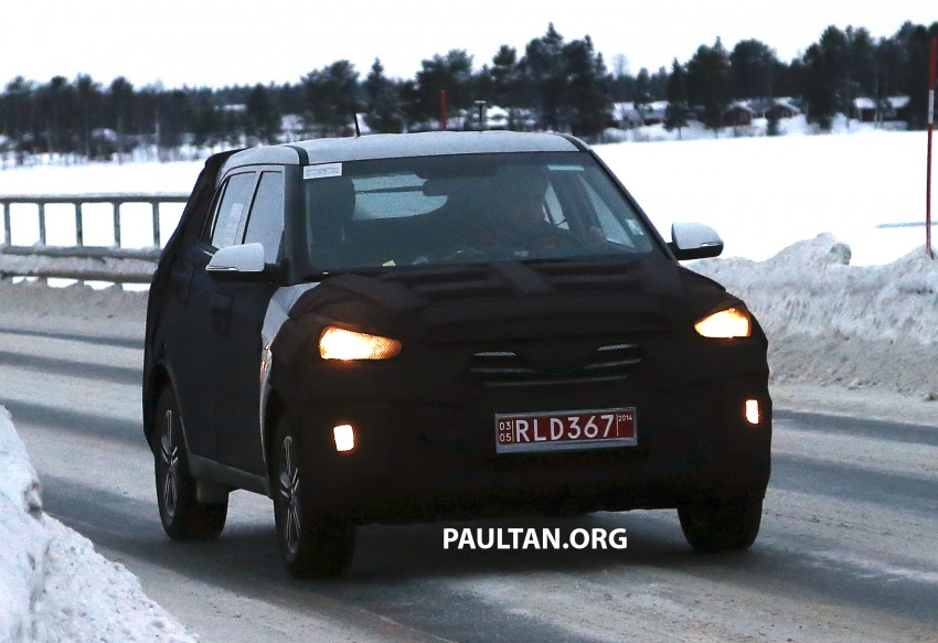 SPYSHOTS: Hyundai ix25 – Nissan Juke rival spotted Image #228306
