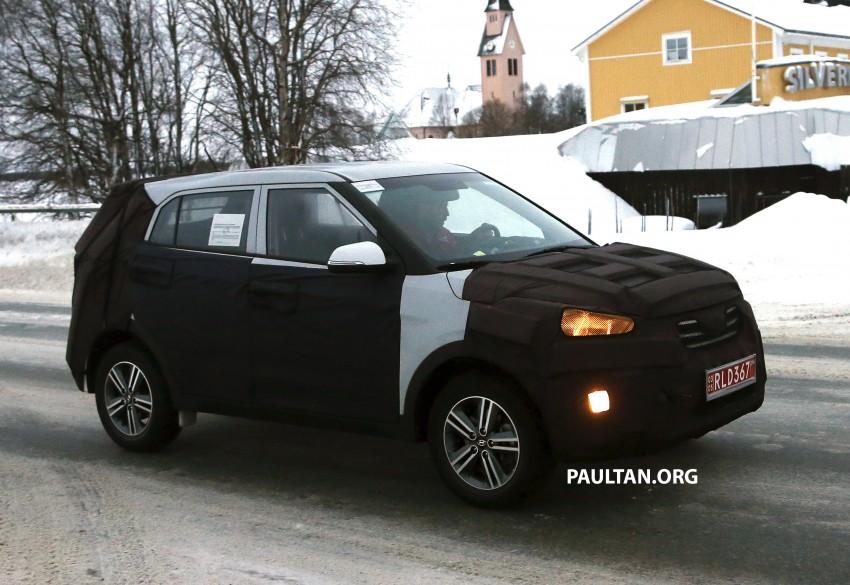 SPYSHOTS: Hyundai ix25 – Nissan Juke rival spotted Image #228307