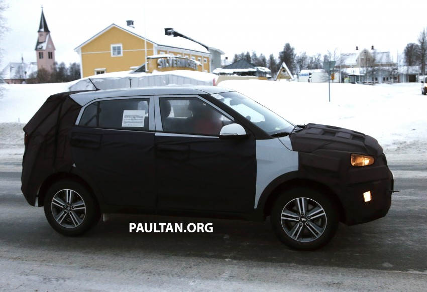 SPYSHOTS: Hyundai ix25 – Nissan Juke rival spotted Image #228300