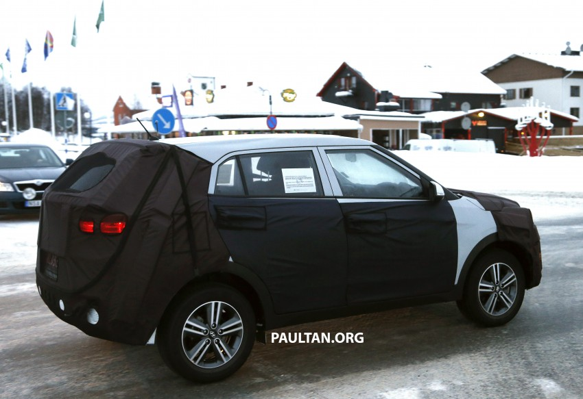 SPYSHOTS: Hyundai ix25 – Nissan Juke rival spotted Image #228302
