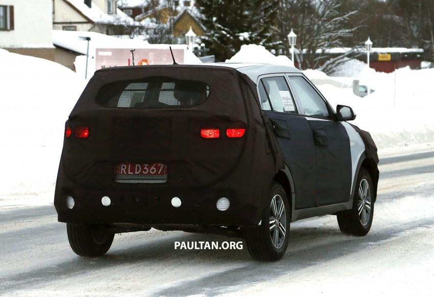 SPYSHOTS: Hyundai ix25 – Nissan Juke rival spotted Image #228304