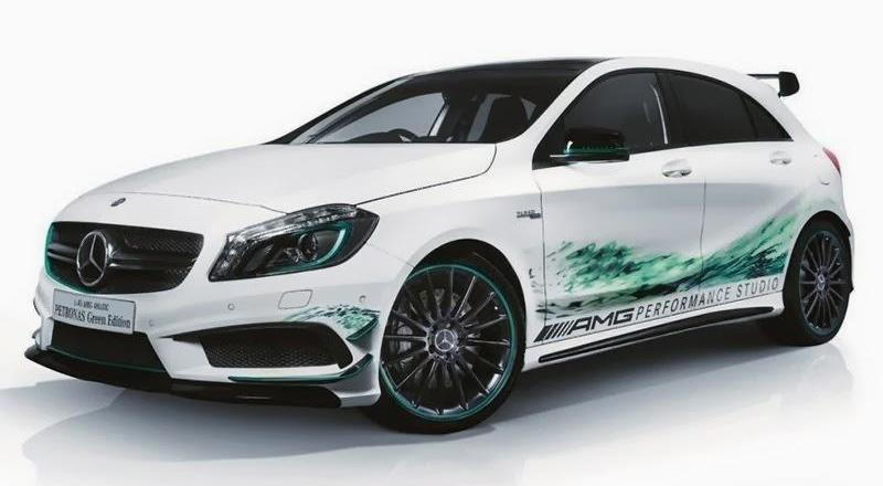 Merc A 45 AMG Petronas Green Edition – Japan only Image #225725