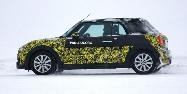 Spyshots Rag Top Mini Cabriolet Debuting This Year