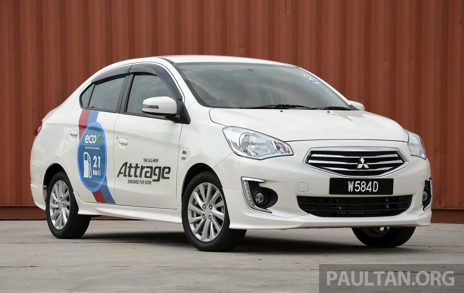 Driven Mitsubishi Attrage 21 Km L Claims Put To Test