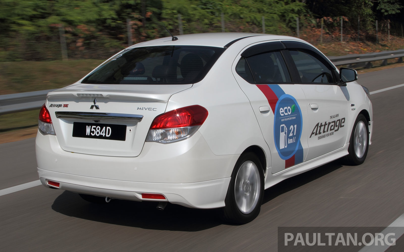 DRIVEN: Mitsubishi Attrage – 21 km/l claims put to test Image 229336