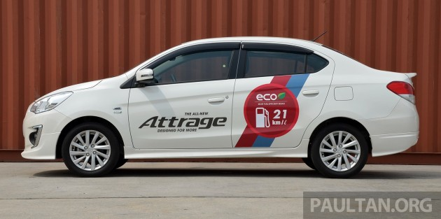 Mitsubishi Attrage review-7