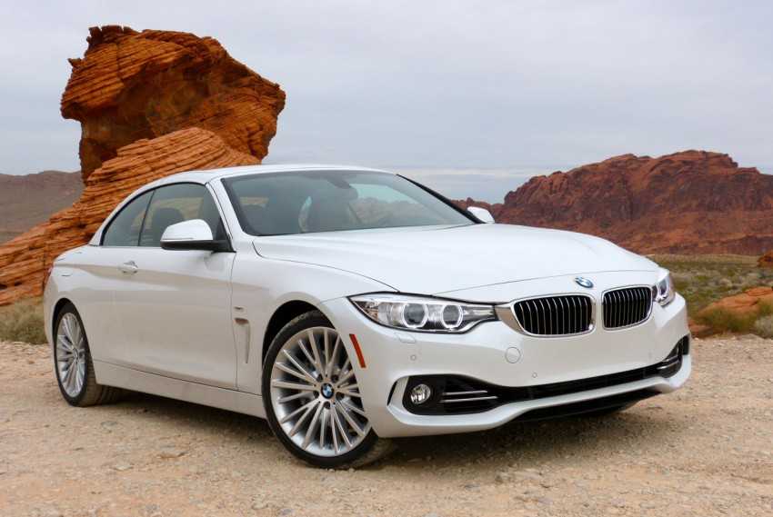 DRIVEN: BMW 435i Convertible tested in Las Vegas Image #228763