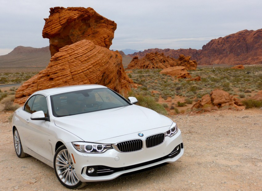 DRIVEN: BMW 435i Convertible tested in Las Vegas Image #228764