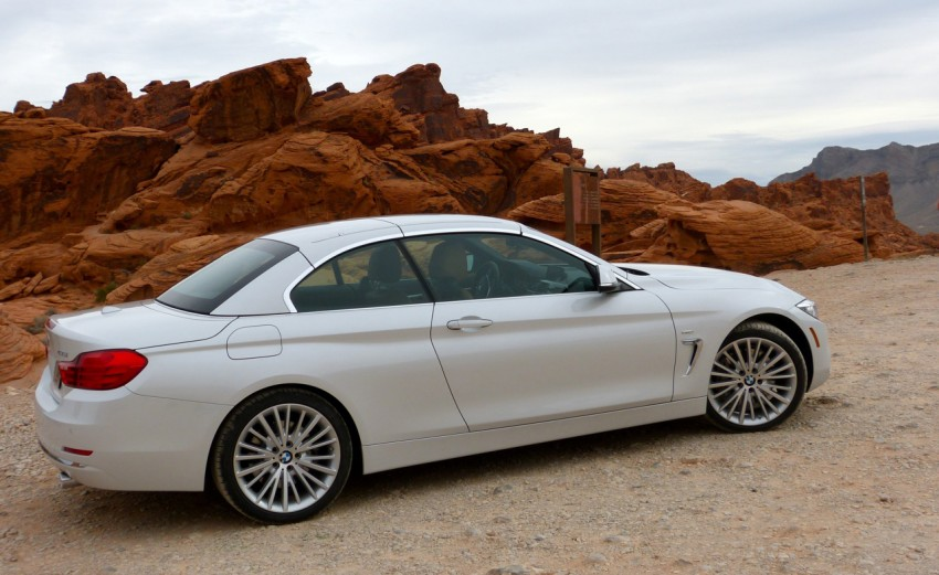 DRIVEN: BMW 435i Convertible tested in Las Vegas Image #228766