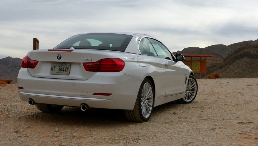 DRIVEN: BMW 435i Convertible tested in Las Vegas Image #228767