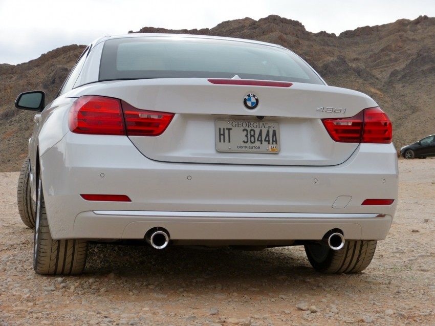 DRIVEN: BMW 435i Convertible tested in Las Vegas Image #228778