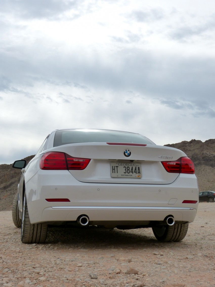 DRIVEN: BMW 435i Convertible tested in Las Vegas Image #228779