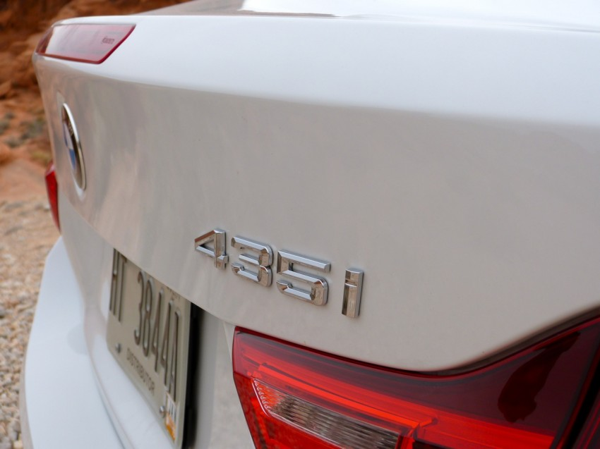 DRIVEN: BMW 435i Convertible tested in Las Vegas Image #228780