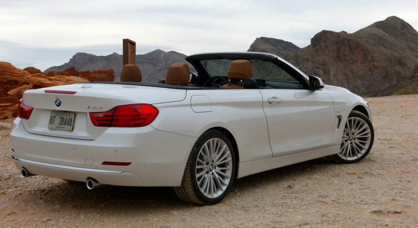 DRIVEN: BMW 435i Convertible tested in Las Vegas Image #228762