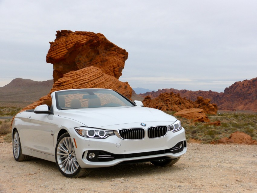 DRIVEN: BMW 435i Convertible tested in Las Vegas Image #228787