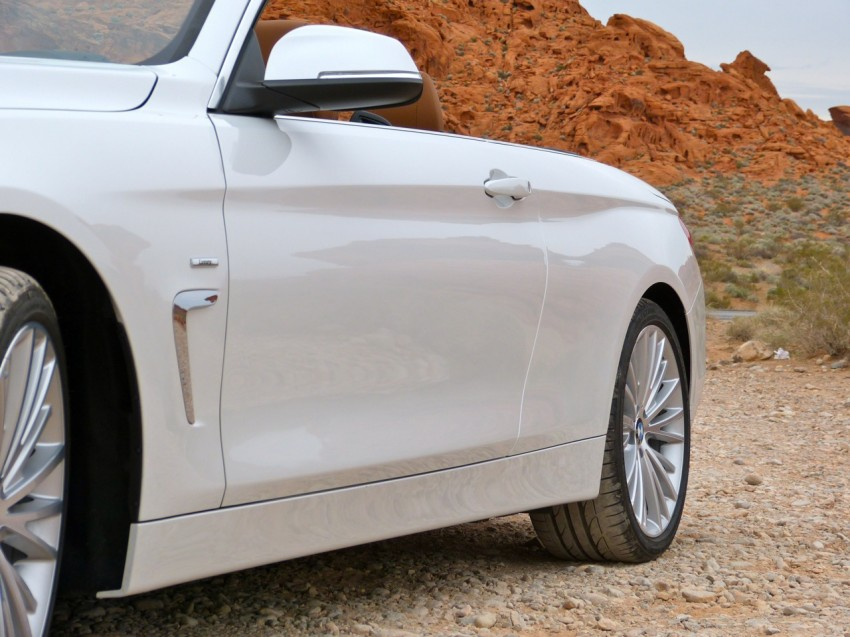 DRIVEN: BMW 435i Convertible tested in Las Vegas Image #228788