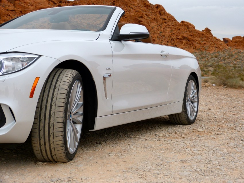 DRIVEN: BMW 435i Convertible tested in Las Vegas Image #228789