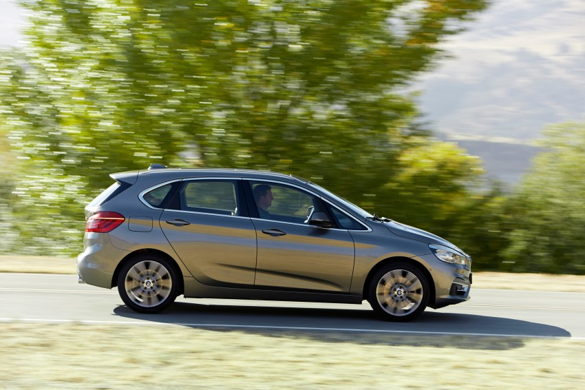 F45 BMW 2 Series Active Tourer – scoring some firsts Image #228323
