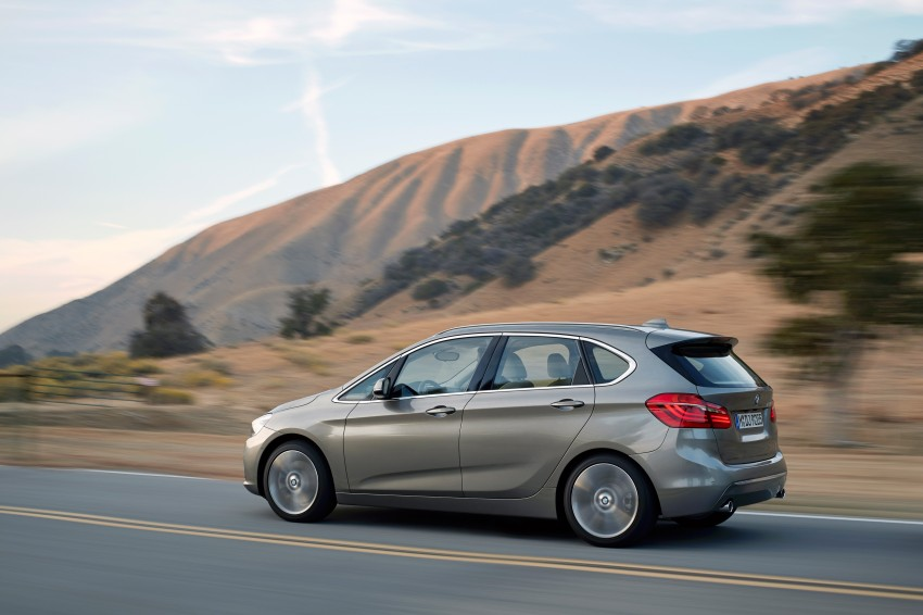 F45 BMW 2 Series Active Tourer – scoring some firsts Image #228324