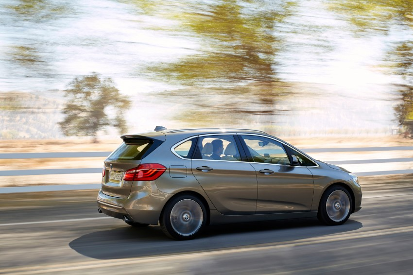 F45 BMW 2 Series Active Tourer – scoring some firsts Image #228361