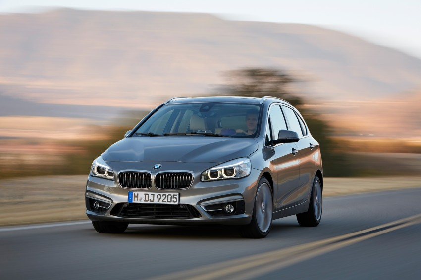 F45 BMW 2 Series Active Tourer – scoring some firsts Image #228326