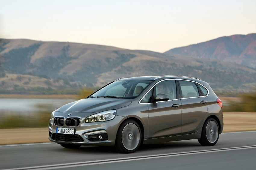 F45 BMW 2 Series Active Tourer – scoring some firsts Image #228327
