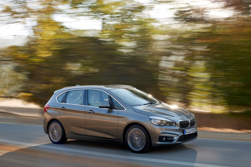 F45 BMW 2 Series Active Tourer – scoring some firsts Image #228328