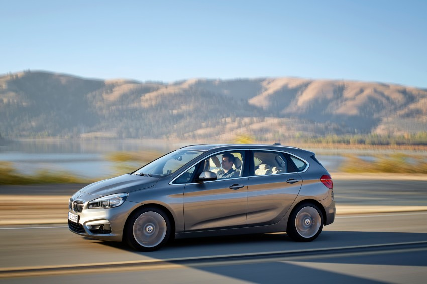 F45 BMW 2 Series Active Tourer – scoring some firsts Image #228329