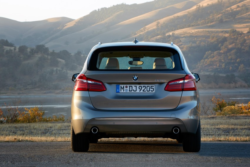 F45 BMW 2 Series Active Tourer – scoring some firsts Image #228330