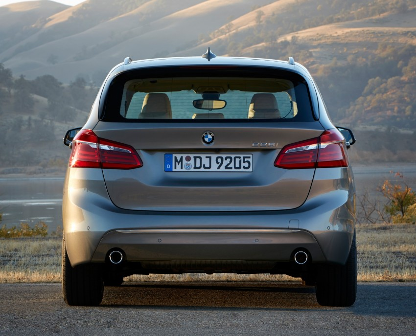 F45 BMW 2 Series Active Tourer – scoring some firsts Image #228366