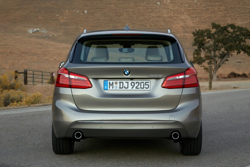F45 BMW 2 Series Active Tourer – scoring some firsts Image #228331