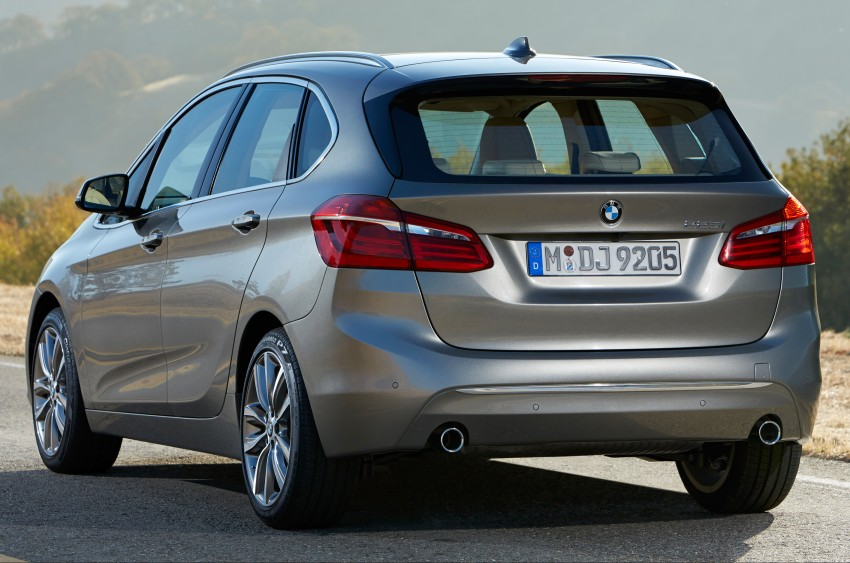 F45 BMW 2 Series Active Tourer – scoring some firsts Image #228368