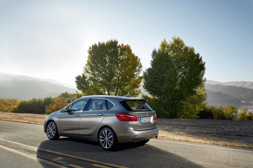 F45 BMW 2 Series Active Tourer – scoring some firsts Image #228334