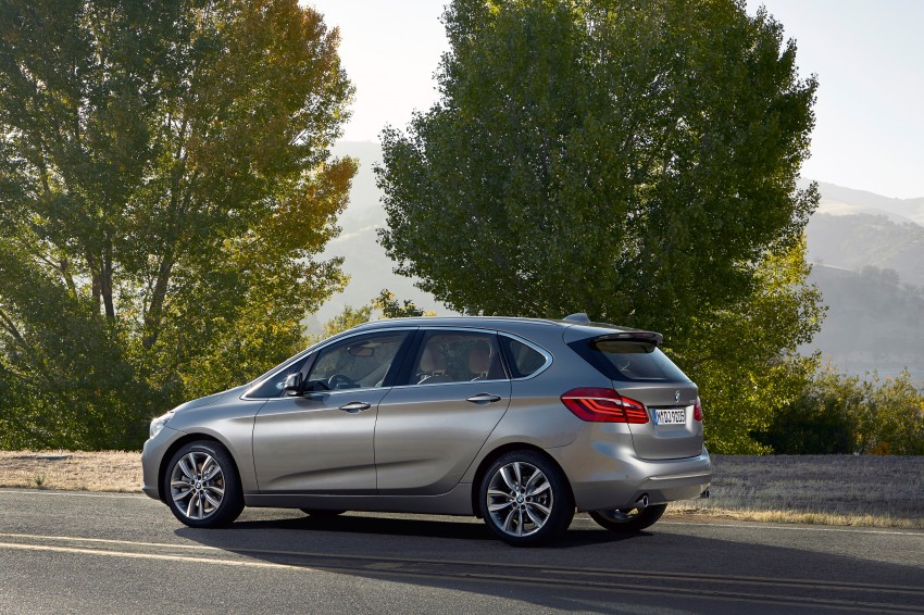 F45 BMW 2 Series Active Tourer – scoring some firsts Image #228371