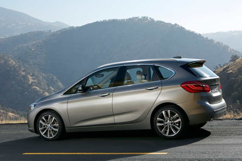 F45 BMW 2 Series Active Tourer – scoring some firsts Image #228336