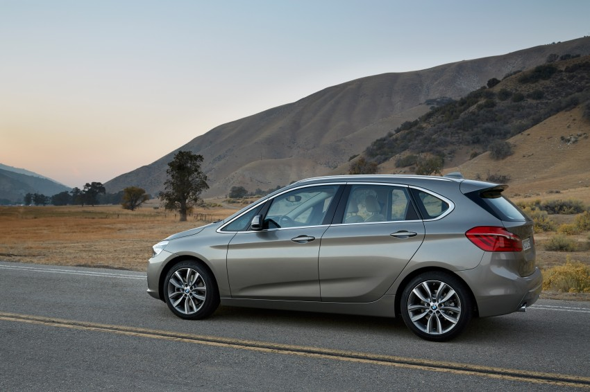 F45 BMW 2 Series Active Tourer – scoring some firsts Image #228337