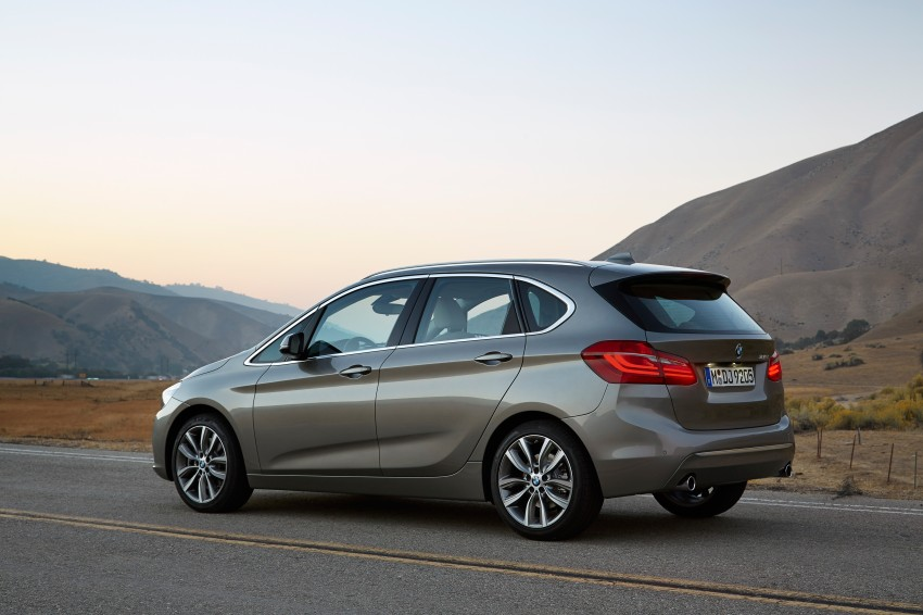 F45 BMW 2 Series Active Tourer – scoring some firsts Image #228338