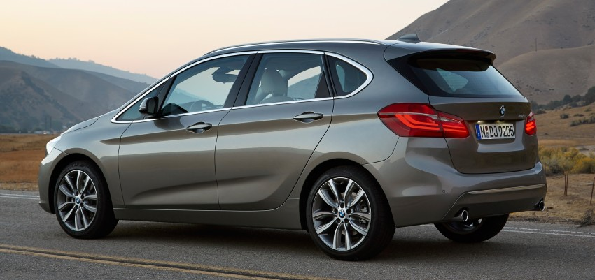 F45 BMW 2 Series Active Tourer – scoring some firsts Image #228374
