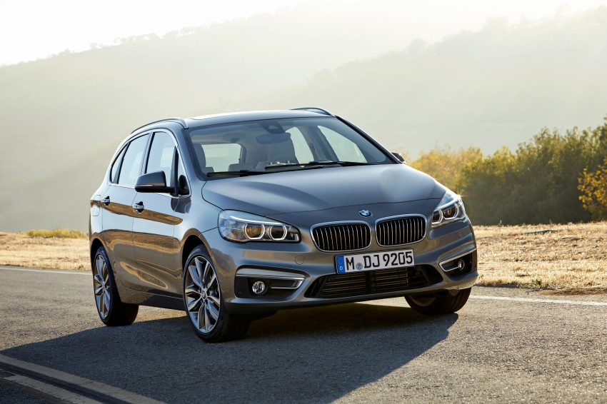 F45 BMW 2 Series Active Tourer – scoring some firsts Image #228376