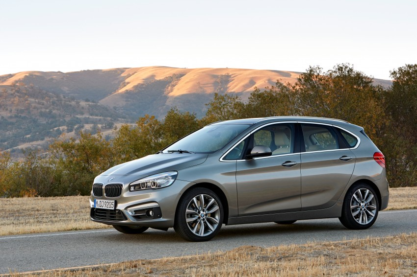 F45 BMW 2 Series Active Tourer – scoring some firsts Image #228377