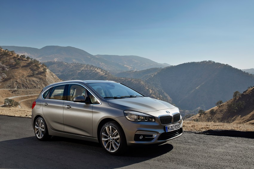 F45 BMW 2 Series Active Tourer – scoring some firsts Image #228342
