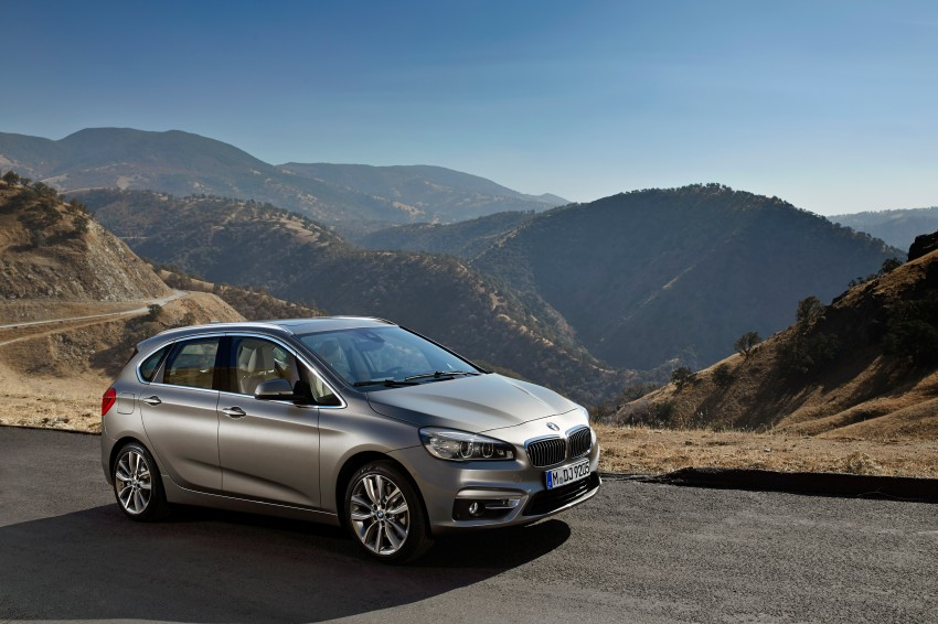 F45 BMW 2 Series Active Tourer – scoring some firsts Image #228343