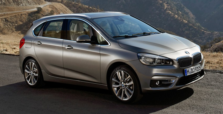 F45 BMW 2 Series Active Tourer – scoring some firsts Image #228379