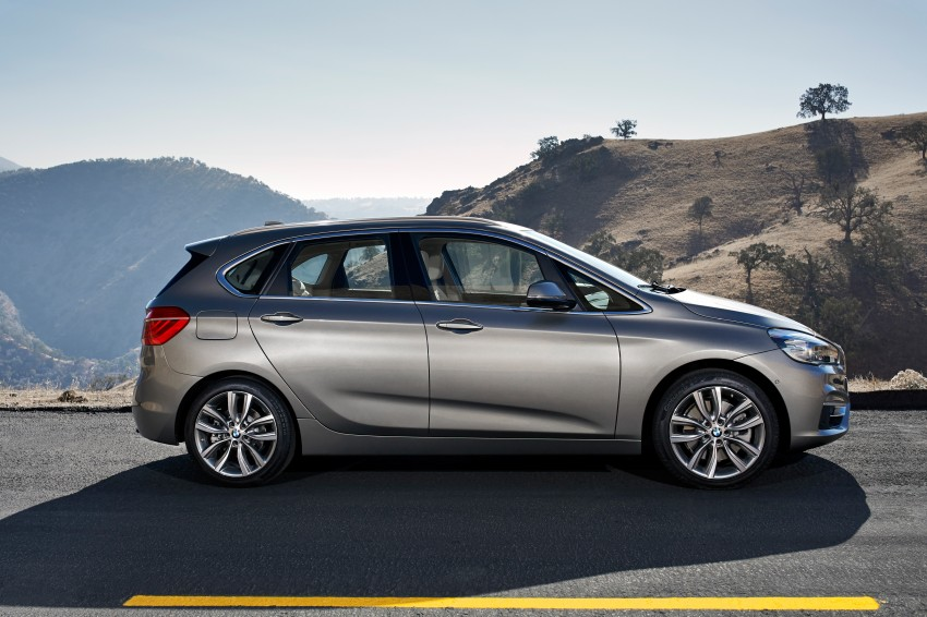 F45 BMW 2 Series Active Tourer – scoring some firsts Image #228344