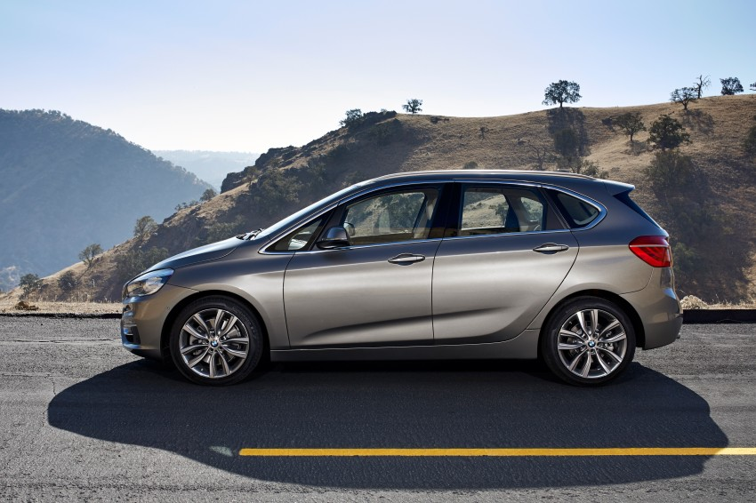 F45 BMW 2 Series Active Tourer – scoring some firsts Image #228345