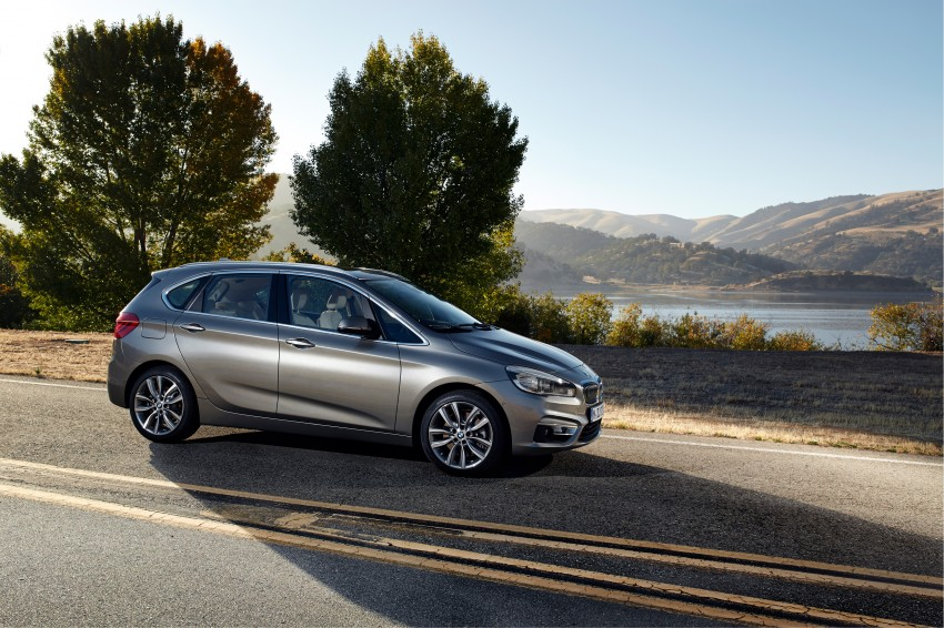 F45 BMW 2 Series Active Tourer – scoring some firsts Image #228346