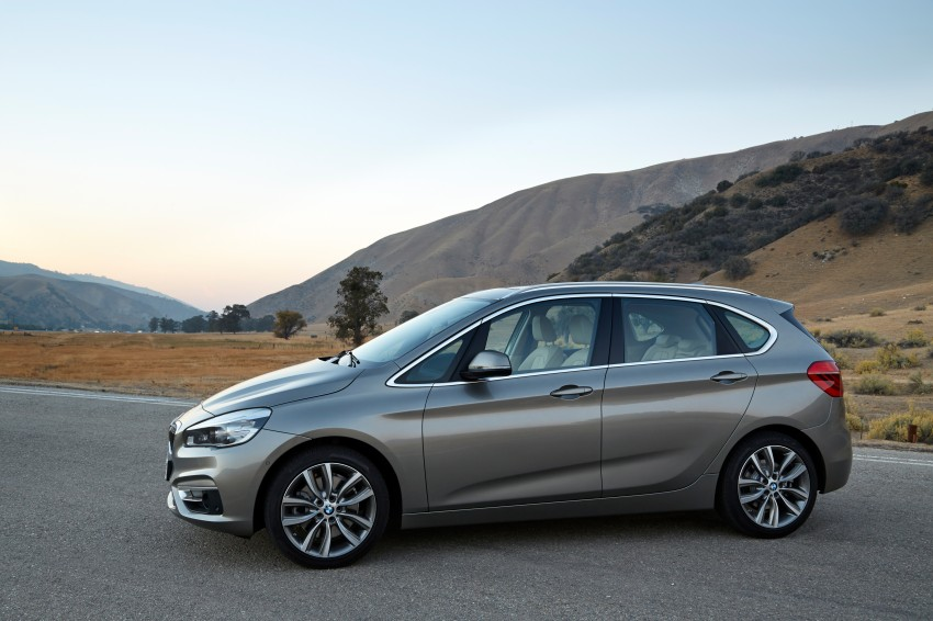 F45 BMW 2 Series Active Tourer – scoring some firsts Image #228347