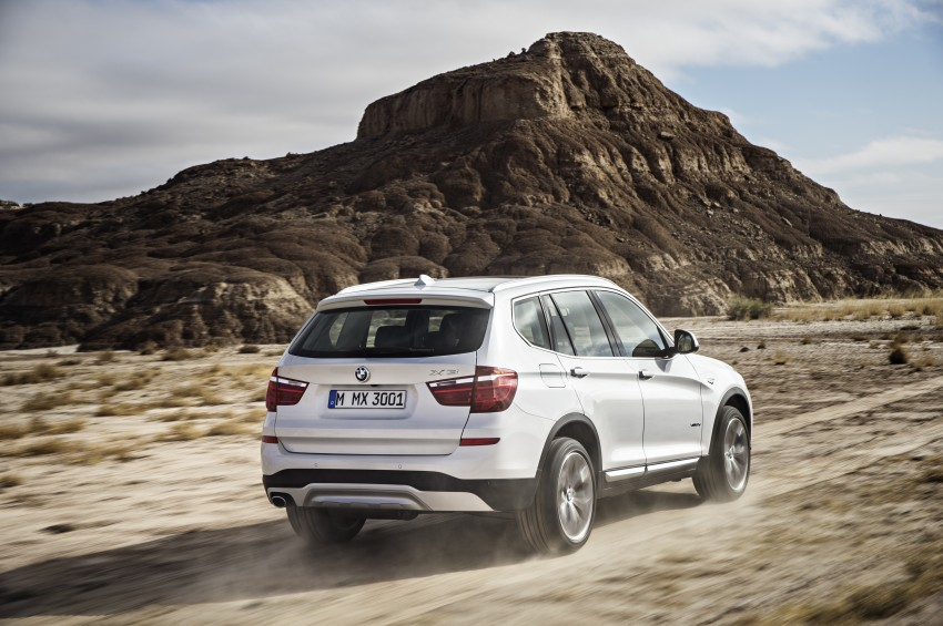 2014 BMW X3 LCI unveiled – the F25 gets facelifted Image #226618