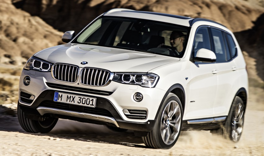 2014 BMW X3 LCI unveiled – the F25 gets facelifted Image #226620