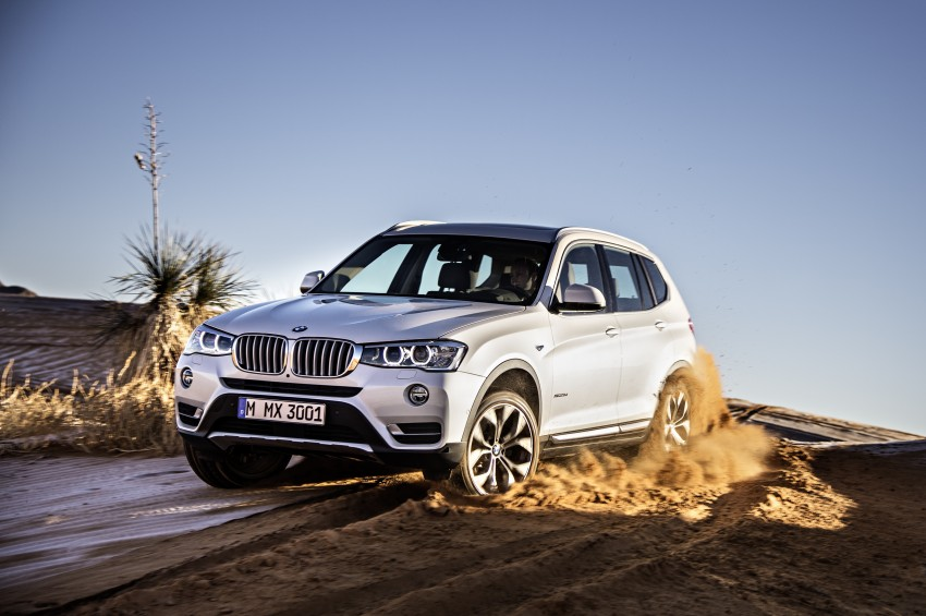 2014 BMW X3 LCI unveiled – the F25 gets facelifted Image #226630